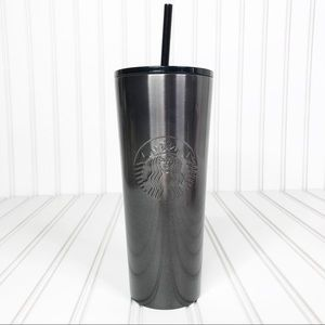 Other - NWT Starbucks Black Ombre 24oz Stainless Steel Cup